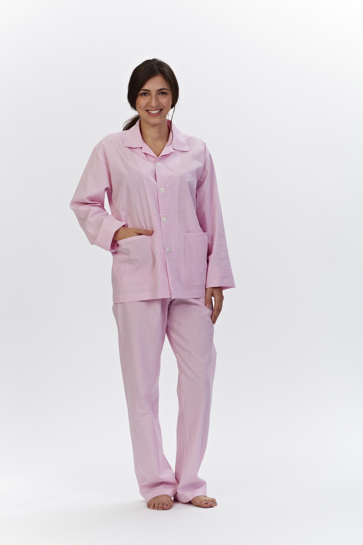 size 40 23b20 4ee8c Damen Pyjama lang