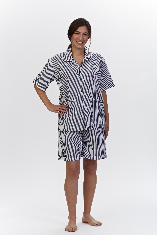 pyjama royal traumhafte nachtw sche morgenm ntel und boxershorts damen pyjama kurz. Black Bedroom Furniture Sets. Home Design Ideas